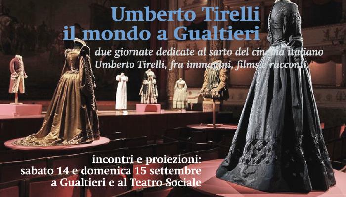 Umberto Tirelli – il mondo a Gualtieri