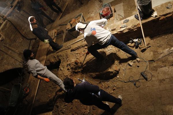 Cantiere Aperto | Scavi, scavi e ancora scavi