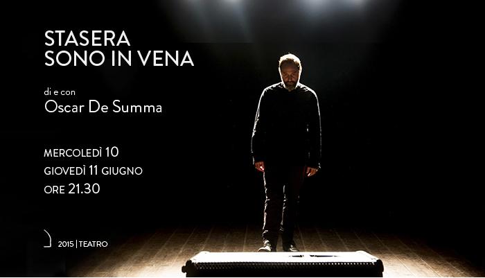 STASERA SONO IN VENA</br>Oscar De Summa