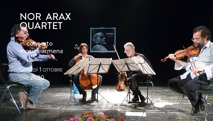 NOR ARAX QUARTET</br>In concerto