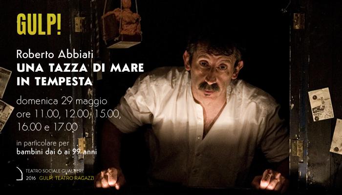 UNA TAZZA DI MARE IN TEMPESTA</br>Roberto Abbiati