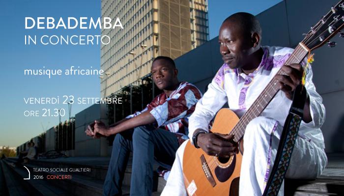 DEBADEMBA</br>In concerto