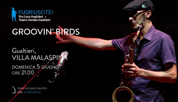 GROOVIN&#8217; BIRDS</br>Fuoriuscite!