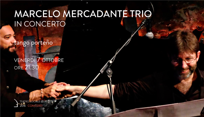 MARCELO MERCADANTE TRIO</br>In concerto