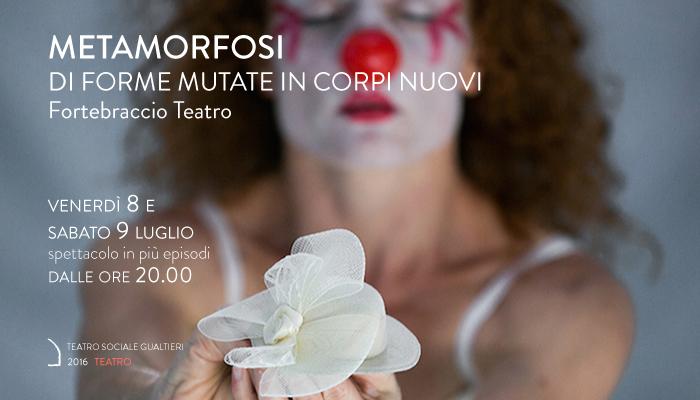 METAMORFOSI</BR>Roberto Latini &#8211; Fortebraccio Teatro