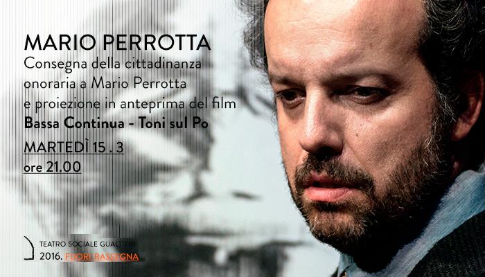 BASSA CONTINUA &#8211; MARIO PERROTTA</br>Anteprima film e cittadinanza onoraria