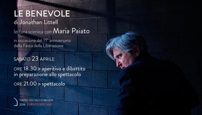 LE BENEVOLE</br>Maria Paiato