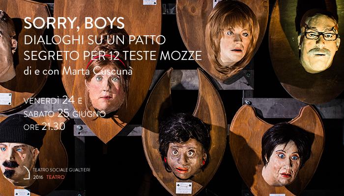 SORRY BOYS</br>Marta Cuscunà
