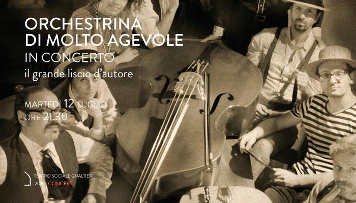 ORCHESTRINA DI MOLTO AGEVOLE</br>In concerto