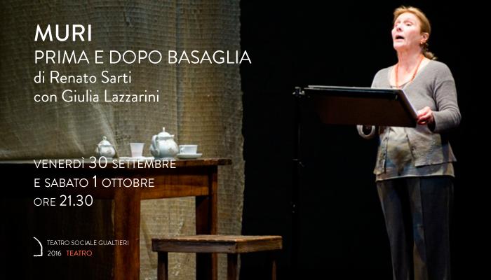 MURI &#8211; PRIMA E DOPO BASAGLIA</br>Giulia Lazzarini