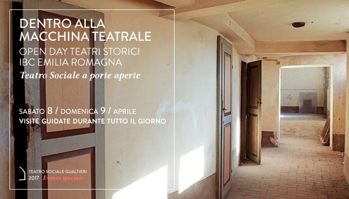 DENTRO ALLA MACCHINA TEATRALE</br>Open Day Teatri Storici Emilia Romagna