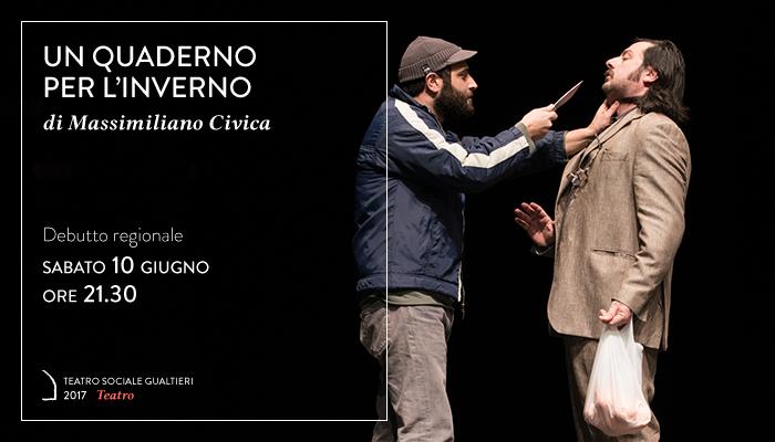 UN QUADERNO PER L&#8217;INVERNO</br>Massimiliano Civica