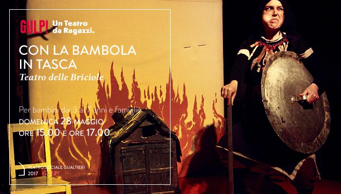 CON LA BAMBOLA IN TASCA</br>Teatro delle Briciole