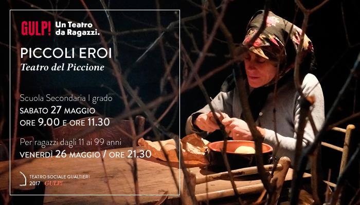 PICCOLI EROI</br>Teatro del Piccione