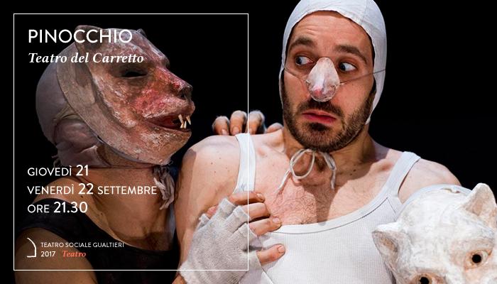 PINOCCHIO</br>Teatro del Carretto