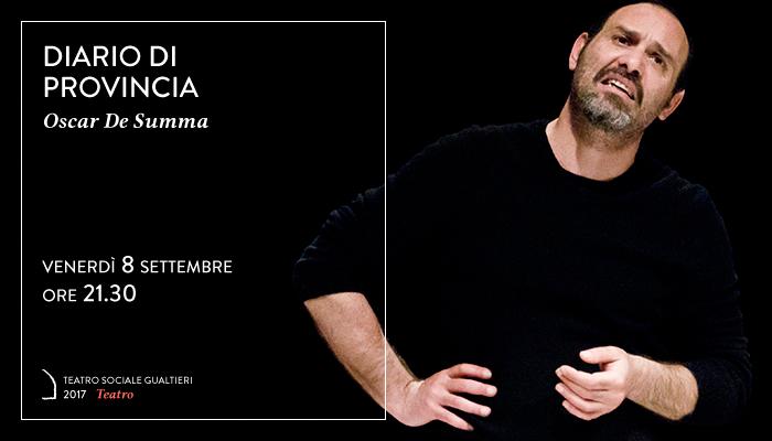 DIARIO DI PROVINCIA</br>Oscar De Summa